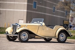 1952 Mg TD Roadster with Hardtop, Award winner, CCP Toronto Roadster