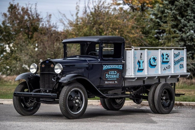 1930 Ford Model AA Stake bed ice truck, Barrett NO RESERVE Truck