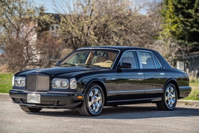 used 2002 bentley arnage for sale at segal motorcar co. inc | vin