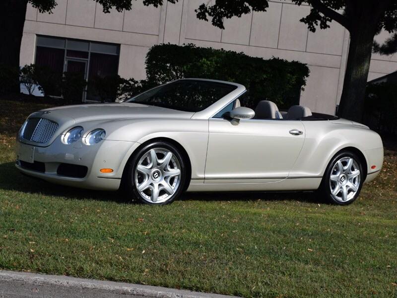 2008 Bentley Continental GTC Mulliner Convertible