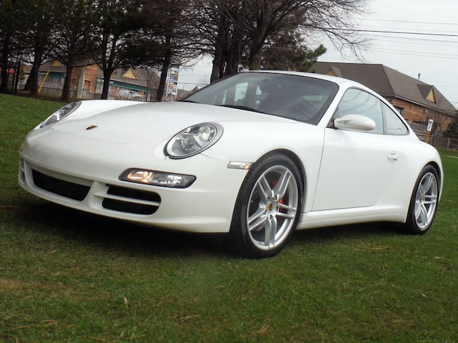 2008 Porsche 911 997 Carrera 4S, 6 Speed, Sport exhaust Coupe