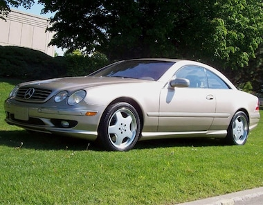 2001 Mercedes-Benz CL-Class CL500 AMG Sport Package Coupe