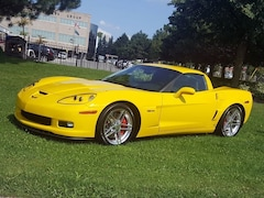 2007 Chevrolet Corvette Z06, LS7, 6 speed, only 14, 097 km Coupe