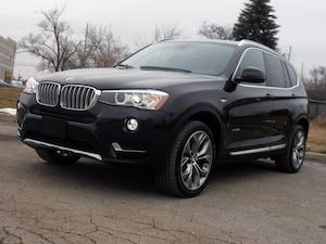 2015 BMW X3 xDrive28i, Enhanced Premium Pkg, GPS Nav, Pano