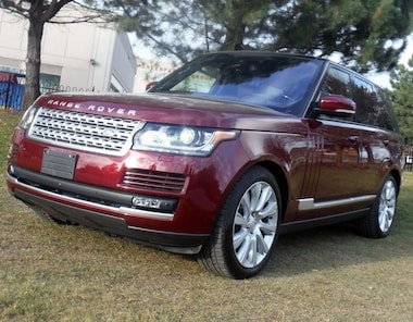 2016 Land Rover Range Rover Turbo DIESEL Td6 HSE, only 900km SUV