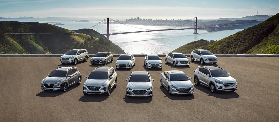 New Hyundai Model Lineup