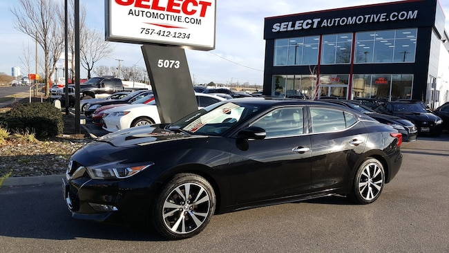 New 2017 Nissan Maxima 3.5 SV Sedan Virginia Beach