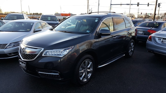 New 2014 Acura MDX MDX SH-AWD with Advance and Entertainment Packages SUV Virginia Beach