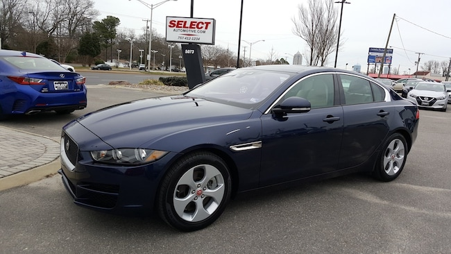 New 2017 Jaguar XE 25t Sedan Virginia Beach