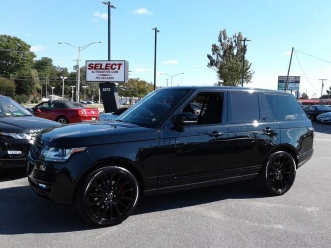 New 2015 Land Rover Range Rover 3.0L V6 Supercharged HSE SUV Virginia Beach