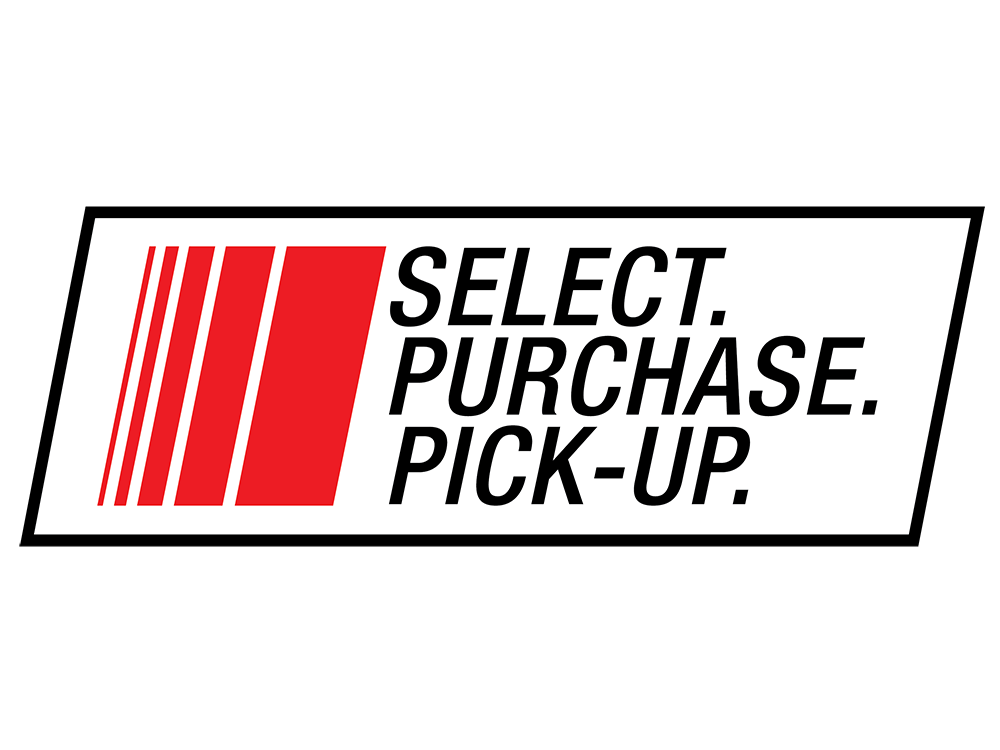 Select. Purchase. Pick-up.