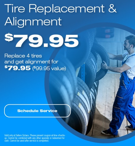 TIRE REPLACEMENT & ALIGNMENT