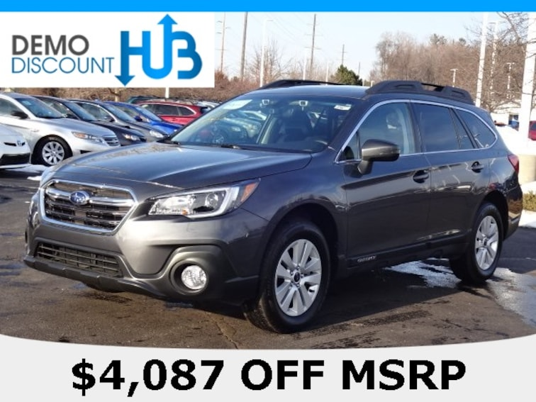 Certified 2019 Subaru Outback 2.5i Premium SUV Macomb