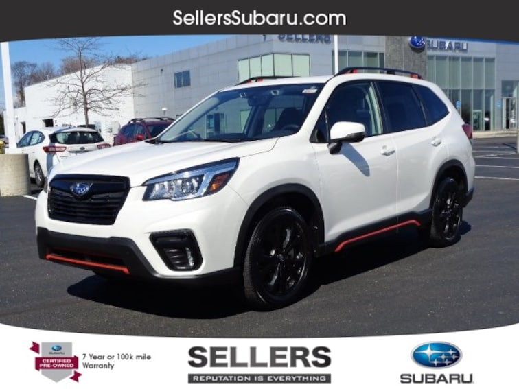 Certified 2019 Subaru Forester Sport SUV Macomb