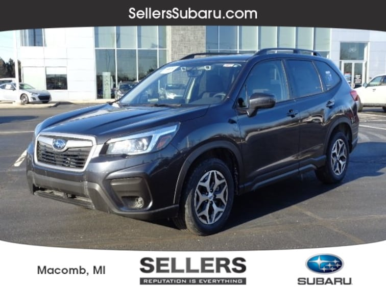 New 2019 Subaru Forester Premium SUV in Macomb