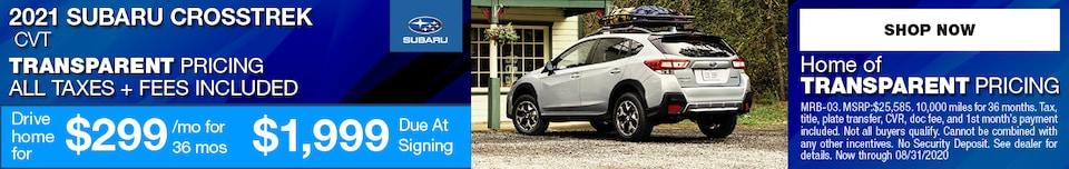 2021 Subaru Crosstrek CVT