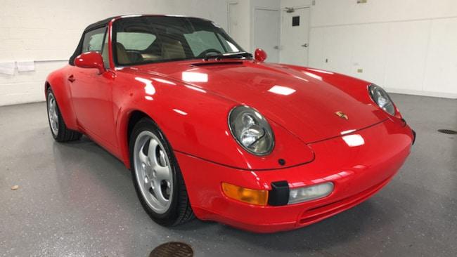 1995 Porsche 911 Carrera 4 Cabriolet Convertible For Sale in Highland Park, IL
