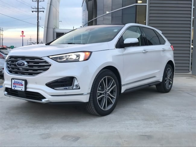 New 2019 Ford Edge Titanium Crossover for sale in Seminole, OK
