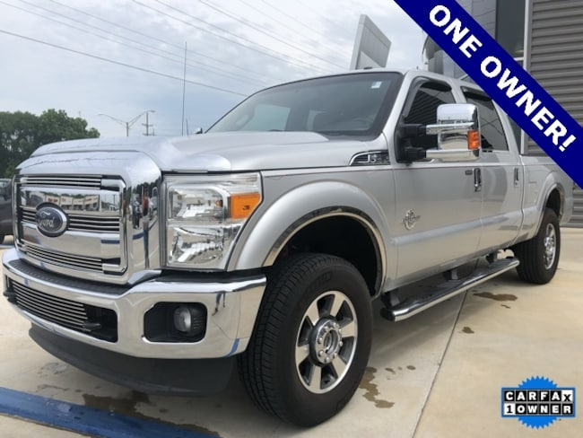 Used 2012 Ford F-250 Lariat Crew Cab Truck for sale in Seminole, OK