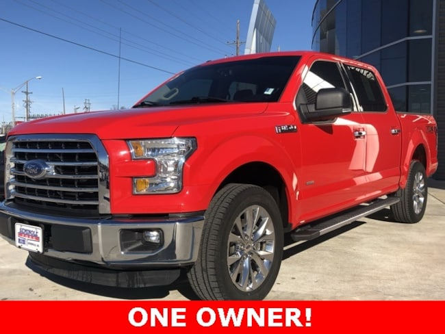 Used 2015 Ford F-150 XLT Crew Cab Truck for sale in Seminole, OK