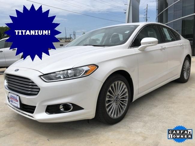 Used 2016 Ford Fusion Titanium Sedan for sale in Seminole, OK