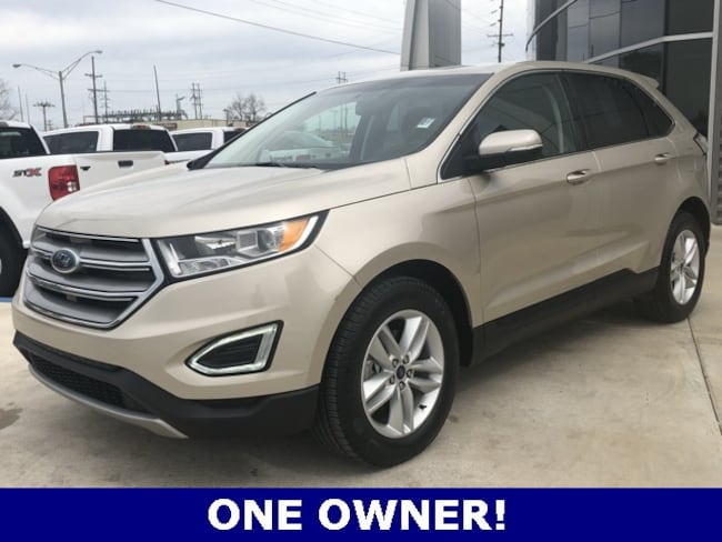 Used 2018 Ford Edge SEL SUV for sale in Seminole, OK