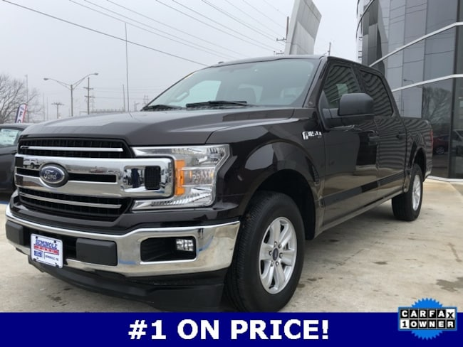 Used 2018 Ford F-150 XLT Crew Cab Truck for sale in Seminole, OK