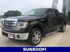 Used 2014 Ford F-150 Lariat Crew Cab Truck for sale in Seminole, OK