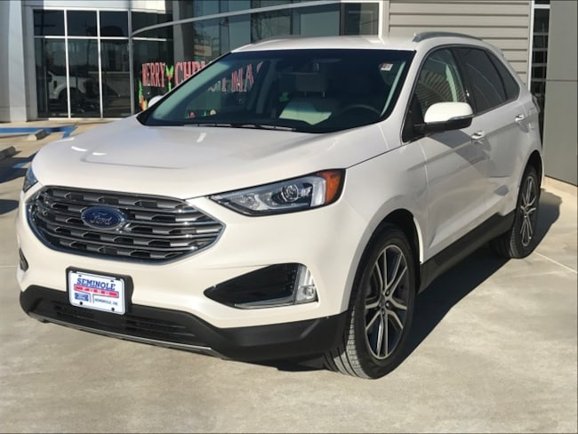 New 2019 Ford Edge Titanium Crossover for sale in Seminole, OK