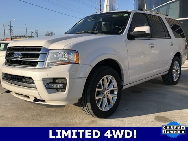 Used 2016 Ford Expedition Limited SUV for sale in Seminole, OK