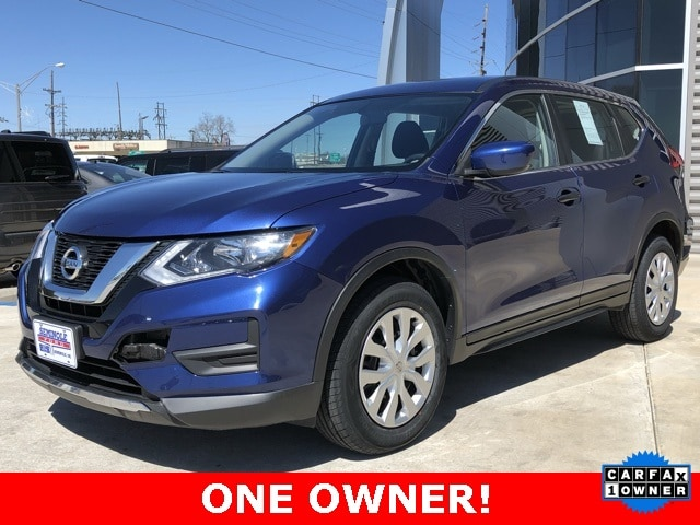 Used 2017 Nissan Rogue S SUV for sale in Seminole, OK