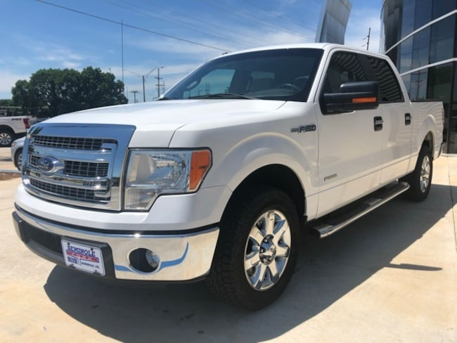 Used 2014 Ford F-150 XLT Crew Cab Truck for sale in Seminole, OK