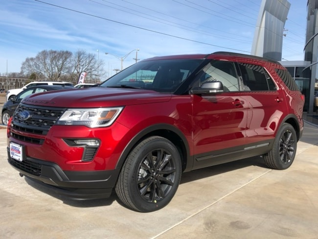 New 2019 Ford Explorer XLT SUV for sale in Seminole, OK