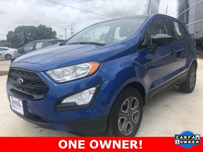 Used 2018 Ford EcoSport S SUV for sale in Seminole, OK