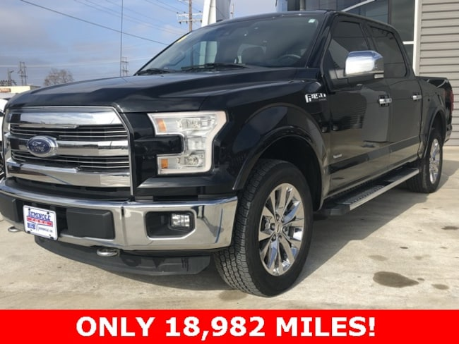 Used 2016 Ford F-150 Lariat Crew Cab Truck for sale in Seminole, OK