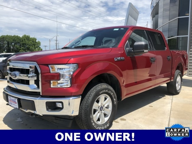 Used 2017 Ford F-150 XLT Crew Cab Long Bed Truck for sale in Seminole, OK