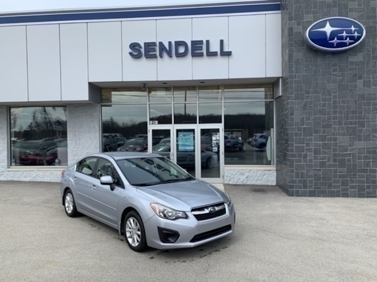 Used 2013 Subaru Impreza 2.0i Premium Sedan in Greensburg