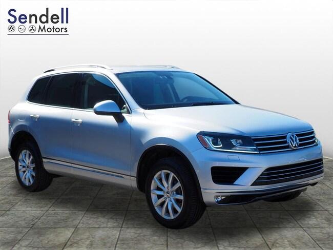 2015 Volkswagen Touareg V6 Sport w/Technology SUV