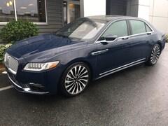 2018 Lincoln Continental Black Label Sedan