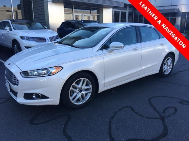 2016 Ford Fusion SE Sedan for sale near Worcester, MA at Sentry Mazda