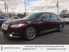 Used 2018 Lincoln Continental Select Sedan