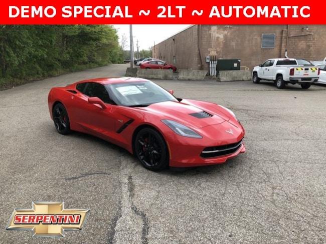 New 2019 Chevrolet Corvette Stingray Coupe in Akron, Ohio