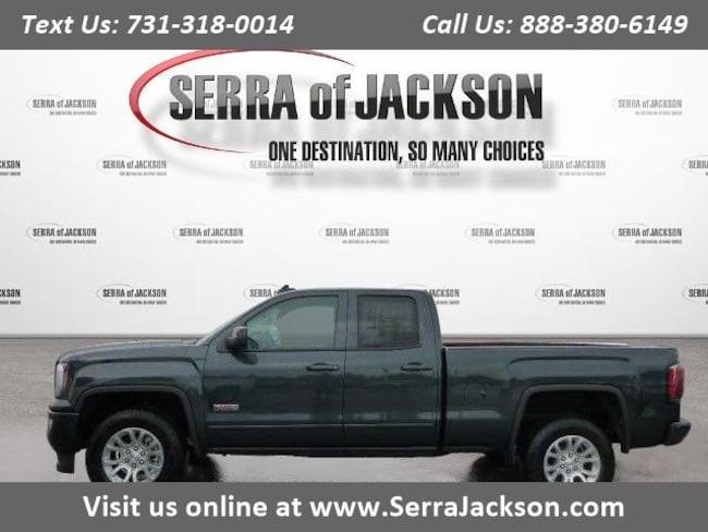 Commercial 2018 GMC Sierra 1500 SLT Truck Double Cab Jackson, TN