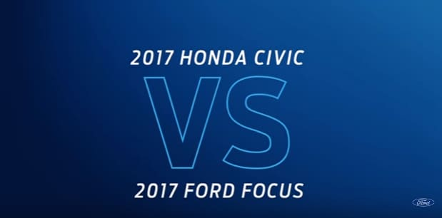 Ford Focus vs Honda Civic