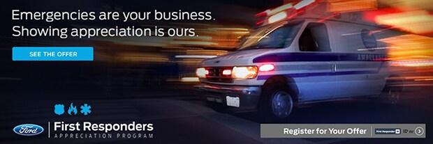 Ford First Responder >> Ford First Responder Appreciation Bonus Cash At Serramonte Ford