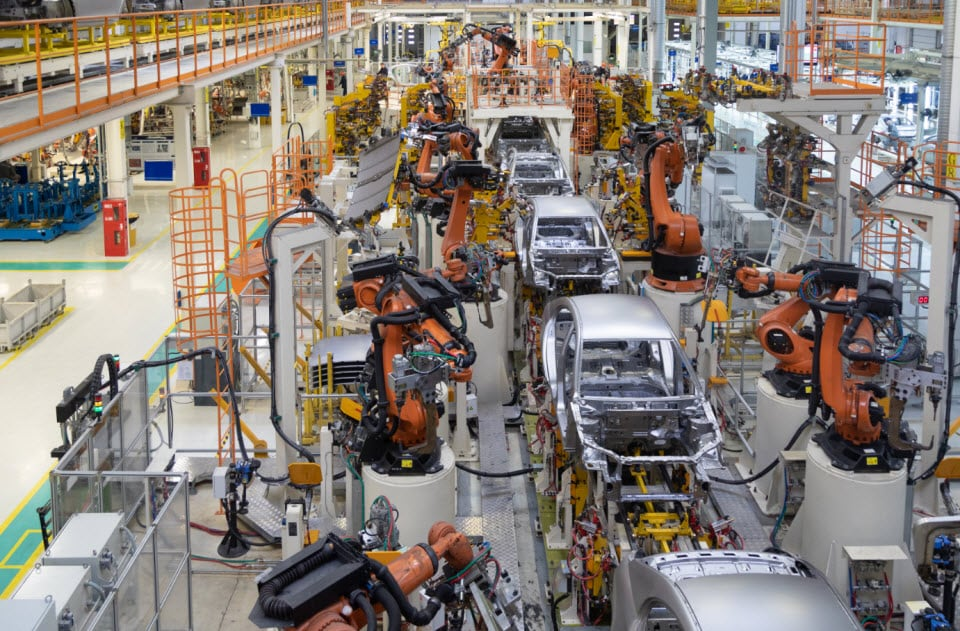 vehicle assembly line