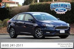 Bargain Used 2017 Ford Focus SEL Sedan 1FADP3H23HL258436 near San Francisco