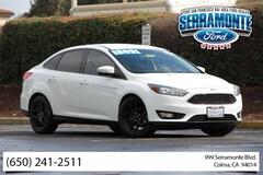 Bargain Used 2016 Ford Focus SE w/ SE Luxury Package Sedan 1FADP3F28GL293944 near San Francisco