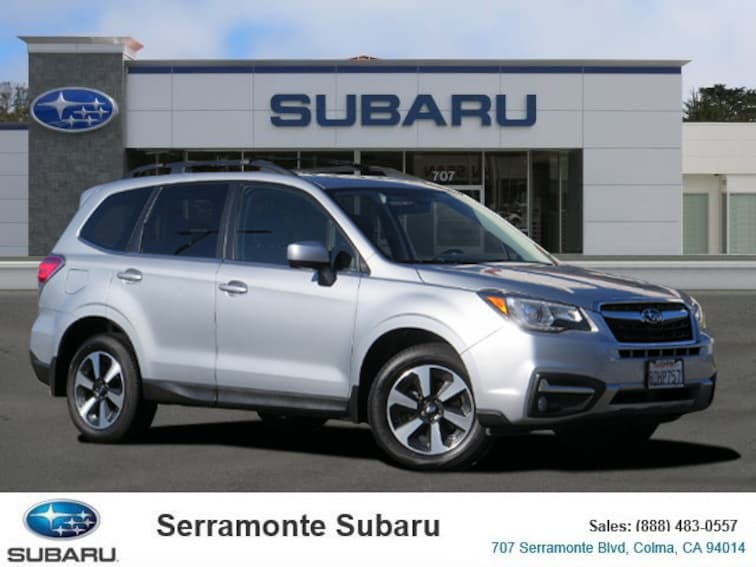 Certified Pre-owned 2018 Subaru Forester 2.5i Limited SUV for sale in Colma, CA