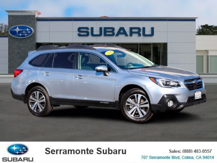 Certified Pre-owned 2018 Subaru Outback 2.5i Limited SUV for sale in Colma, CA